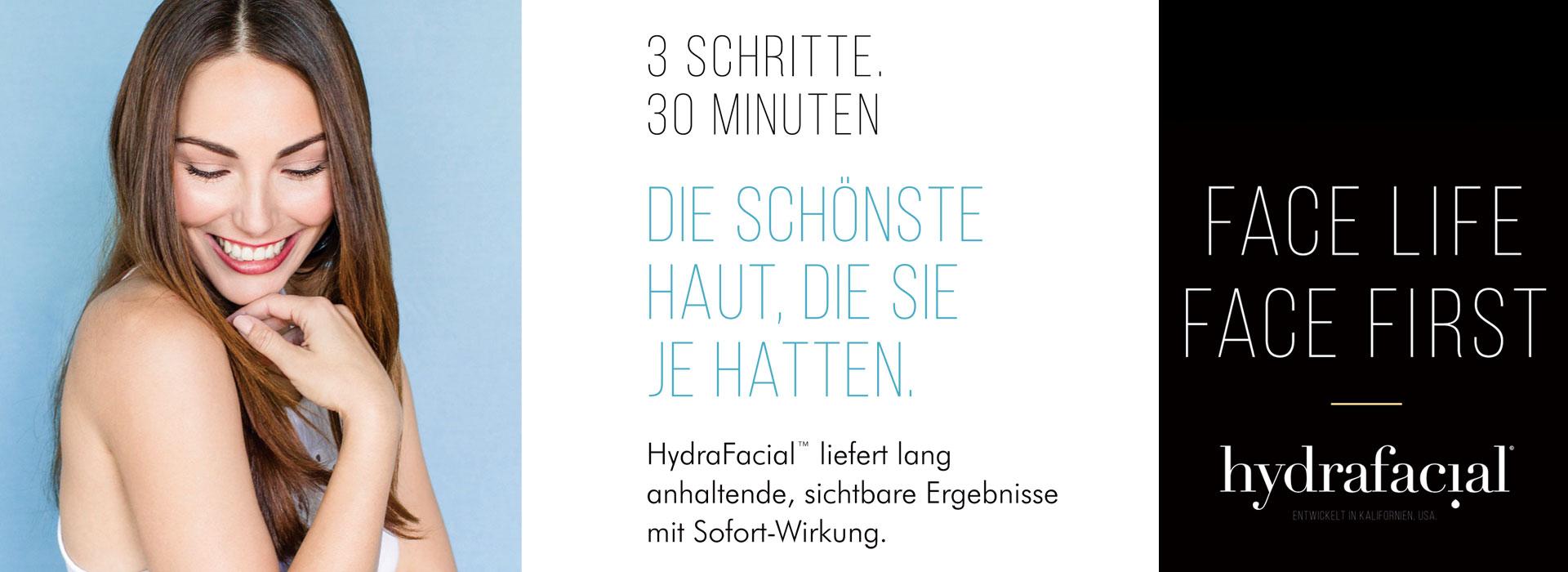 HydraFacial™ liefert lang anhaltende, sichtbare Ergebnisse mit Sofort-Wirkung.